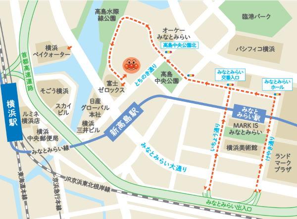 横浜アンパンマンミュージアム 駐車場
