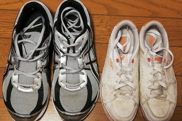 コインランドリー 靴洗い機 キレイになる